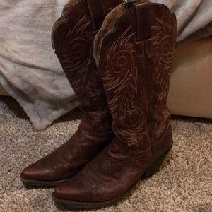 Authentic Justin Cowboy Boots